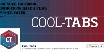 20% text on Facebook cover