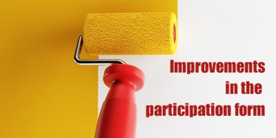 Improvements in the participation form