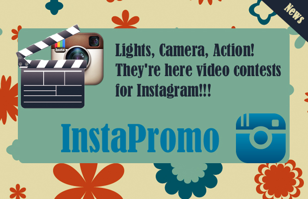 We launch the first application to create contests with Instagram videos