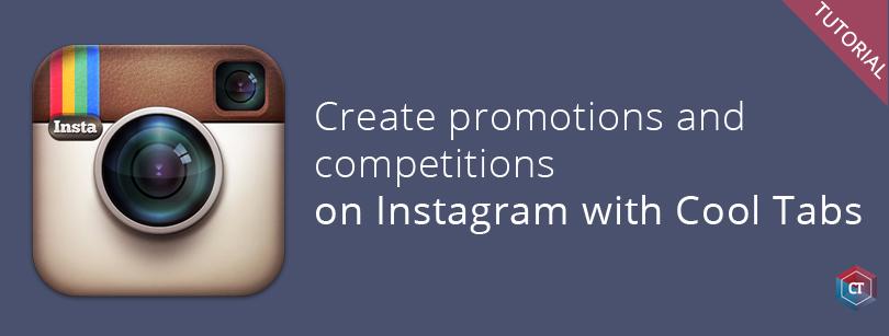Create a Instagram contest