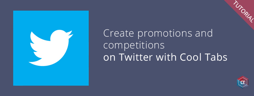 Create contests on Twitter