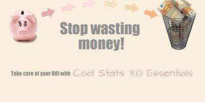 Cool Stats 3.0 Essentials: Take care of your ROI
