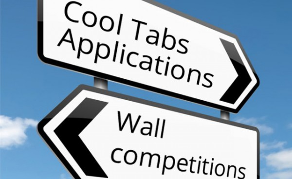 Cool Tabs Applications vs Wall competitions