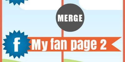 Merge two different fan pages