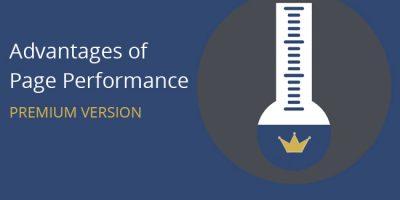 Advantages of Page Performance Premium