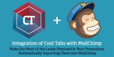 Integration of Cool Tabs with MailChimp