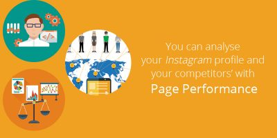 Now you can analyse your Instagram profile with Page Performance