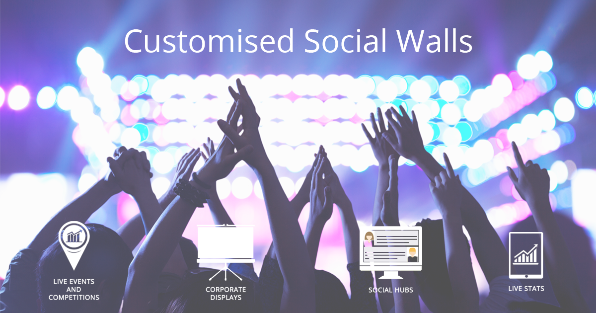 Customised Social Walls for events