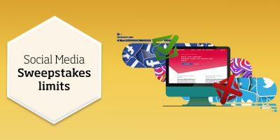 Social media contest limits