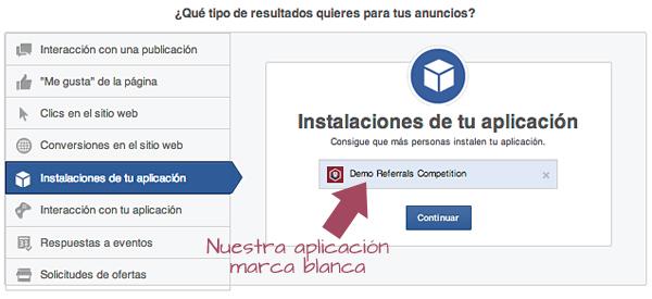 Facebook Ads: Instalaciones de tu aplicación