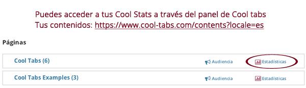 Tus contenidos en Cool Tabs