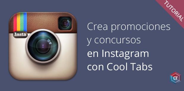 Crea concursos en Instagram con Cool Tabs