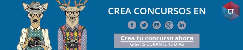 Crea concursos en redes sociales: Concurso Facebook, Concurso Twitter, Concurso Instagram