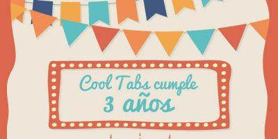 Cool Tabs cumple 3 años