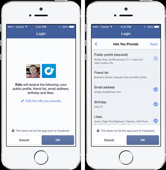 Actualización de Facebook Login y Login Anónimo