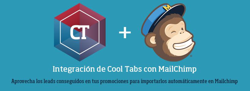 Integración de Cool Tabs con Mailchimp: Aprovecha los leads de tus promociones
