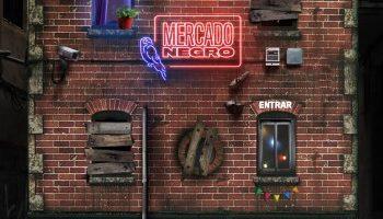 Ron Contrabando: Fachada de Mercado Negro