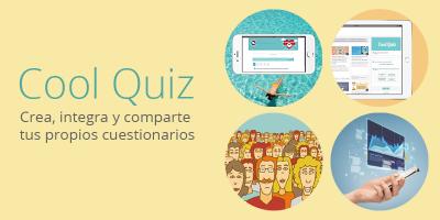 Cool Quiz: Crea cuestionarios para tu web
