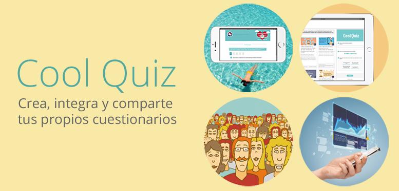 Cool Quiz: Crea cuestionarios, encuestas y tests en tu web