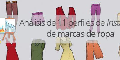 Análisis de 11 marcas españolas de ropa en Instagram