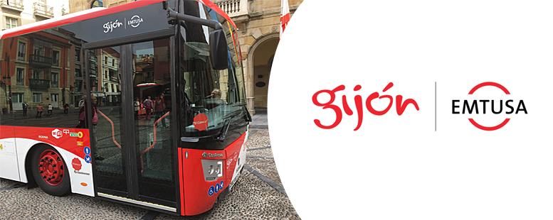Gijón Emtusa, autobuses municipales de Gijón