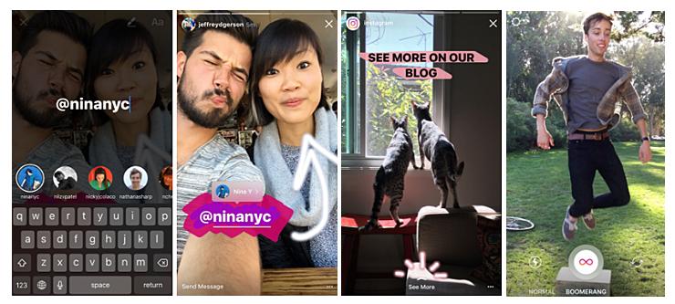 Instagram Stories novedades