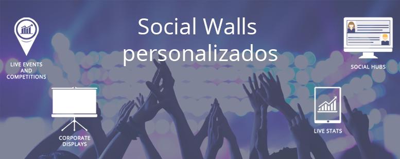 Social Walls para tu evento o marca