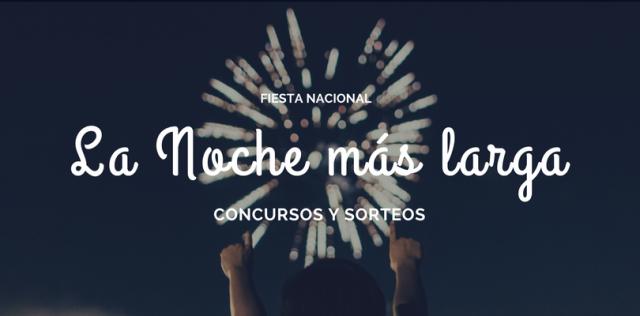 Concursos y sorteos para la fiesta nacional de la noche más larga