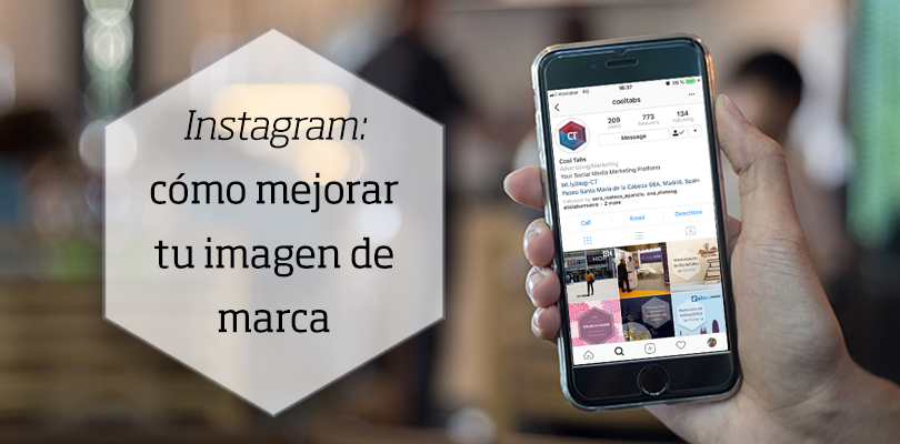 Marca en Instagram