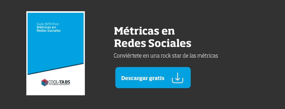 Guía métricas redes sociales