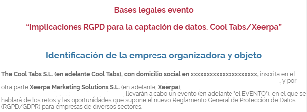 bases legales