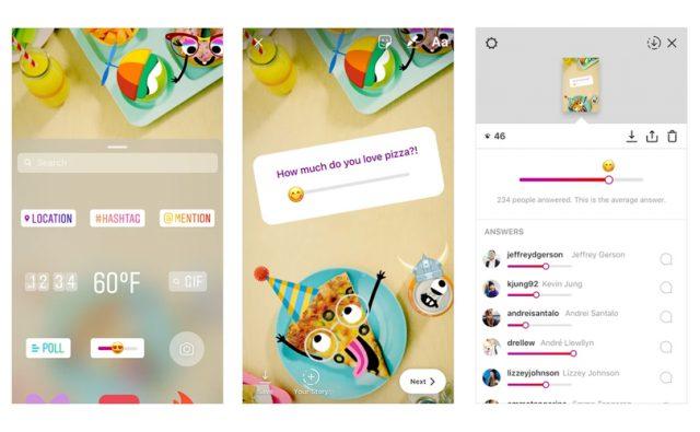 emojis instagram stories