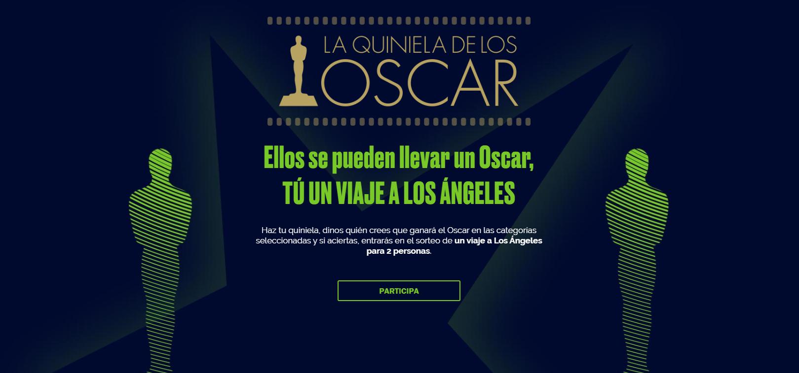 Quiniela Oscars 2020