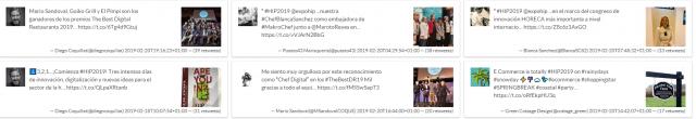 #HIP2019: tweets con más rt