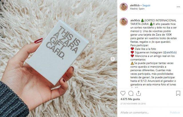 Conseguir seguidores en Instagram: mención real