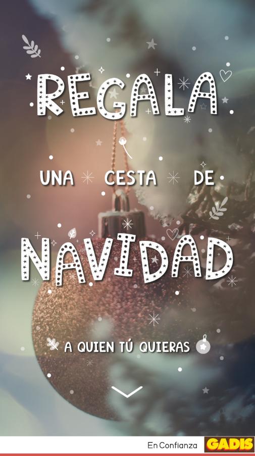 supermercados gadis: campaña de Navidad