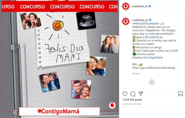 sorteo instagram día de la madre