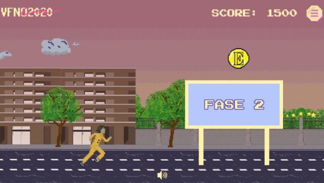 juego interactivo arcade
