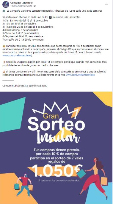 Campaña Consume Lanzarote