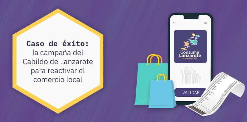 reactivar el comercio local: campaña Consume Lanzarote