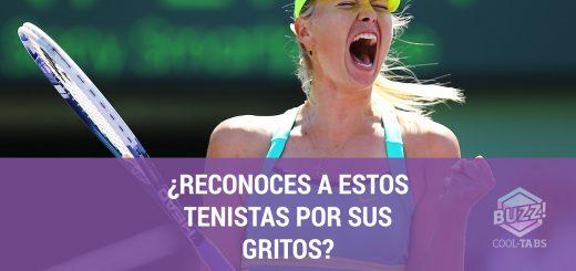 tenistas gritos